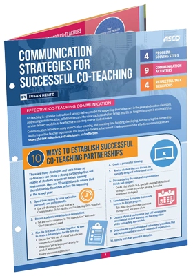 Communication Strategies For Successful Co-Teaching